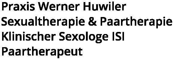 Praxis für Sexualtherapie und Paartherapie